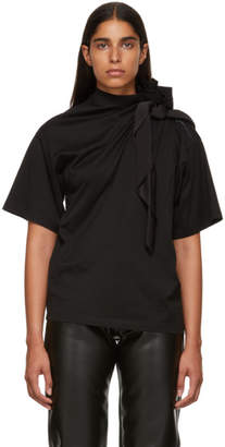 Y/Project Black Scarf T-Shirt