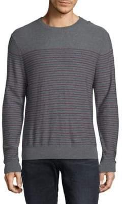 Saks Fifth Avenue Striped Merino Wool Sweater