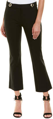 Derek Lam 10 Crosby Black Cropped Flare Trouser