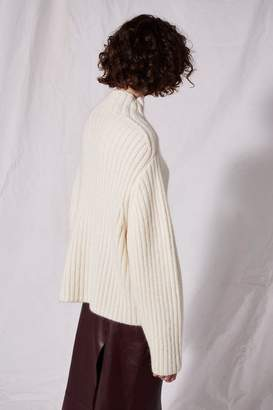 Topshop **Contrast Stitch Knit Jumper by Boutique