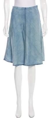 Theory A-Line Knee-Length Skirt