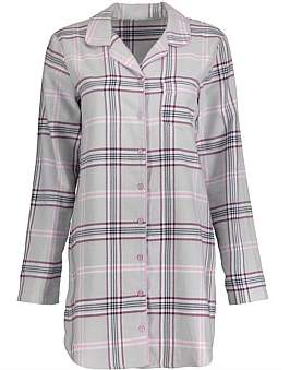 JT One Print Flannel Nightshirt