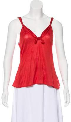 Gucci Sleeveless Bow-Accented Top