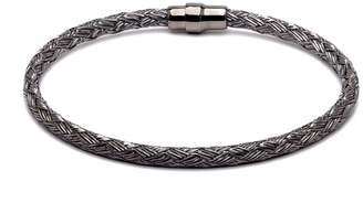 Durrah Jewelry - Graphite Woven Bracelet For Her