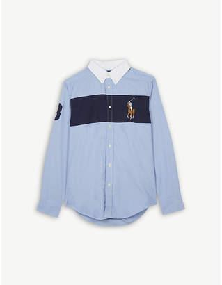 Ralph Lauren Big stripe cotton shirt 6-14 years