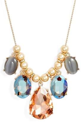 Halogen Gemstone Slider Necklace