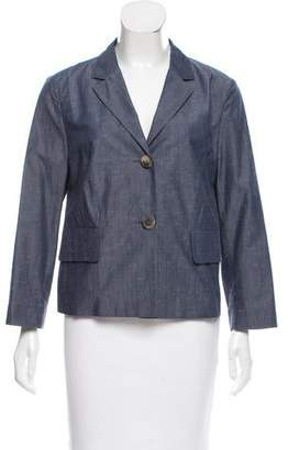 Peserico Chambray Blazer Jacket w/ Tags