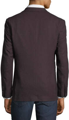 English Laundry Men's Melange Comfort Stretch Sport Coat