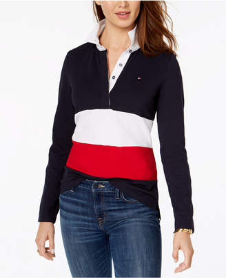 Tommy Hilfiger Striped Rugby Top