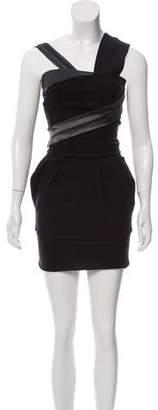 Preen by Thornton Bregazzi Sleeveless Mini Dress