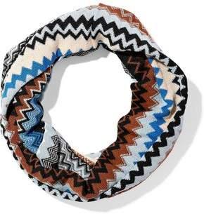 Missoni Crochet Wool-blend Infinity Scarf