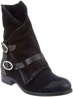 Miz Mooz Leather Buckle Mid Boots - Sydney