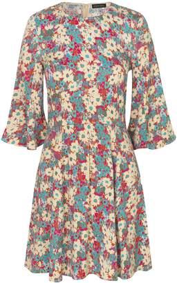 Stine Goya Jasper Dress in Daisy Field Teal