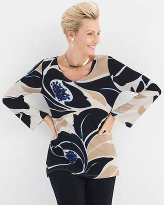 Travelers Classic Floral Tunic