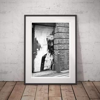 PASiNGA Black And White Street Photography 'Door Portrait'
