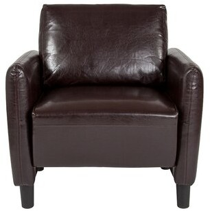 Ebern Designs Bellago Upholstered Armchair Ebern Designs