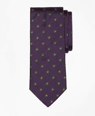 Brooks Brothers Spaced Flower Tie