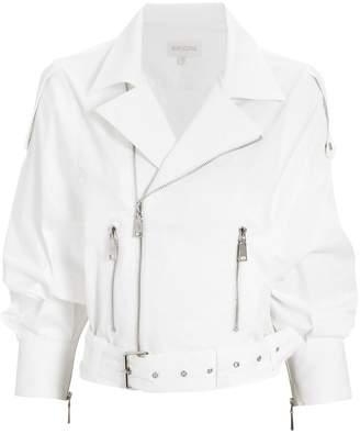 Moto Divine Heritage White Crop Jacket