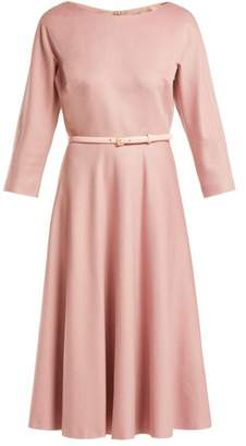 Max Mara Biavo Dress - Womens - Light Pink