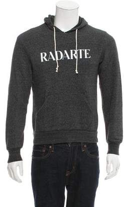 Rodarte Hooded Logo Print Sweatshirt