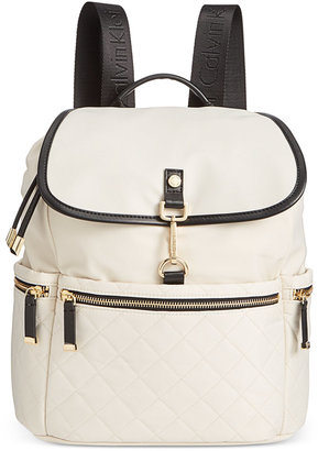 Calvin Klein Lianna Backpack, A Macy's Exclusive Style $188 thestylecure.com