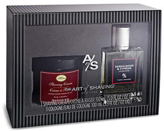 The Art of Shaving Sandalwood and Cypress Fragrance Two-Piece Set