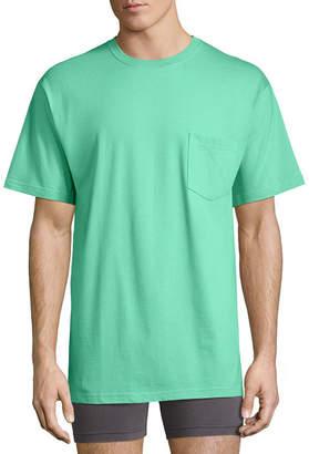 STAFFORD Stafford Blended Crew Pocket T-Shirt - Big & Tall