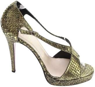 Christian Louboutin Exotic leathers sandal