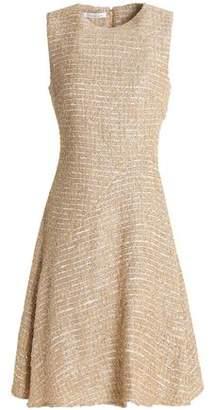Oscar de la Renta Metallic Tweed Dress