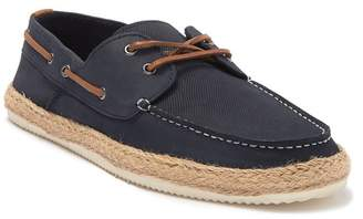 MODERN FICTION Jute Perforated Boat Shoe