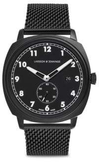 Larsson & Jennings Meridian Black Chain Strap Watch