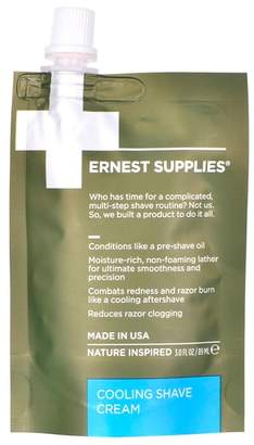 Ernest Supplies Cooling Shave Cream Tech Pack 89ml