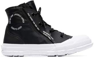 Converse black Chuck Taylor MC18 high top sneakers