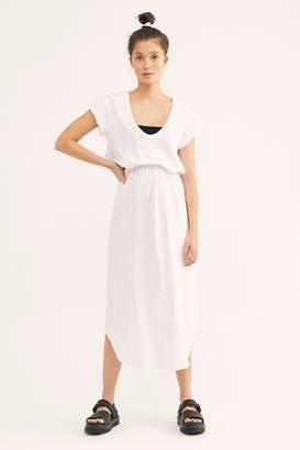 The Endless Summer Fp Beach Marigold Midi Dress