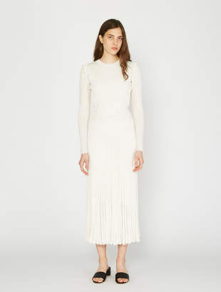 CHRISTOPHER ESBER Deconstruct Long Sleeve Knit Dress