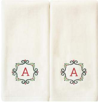 St Nicholas Square 2-pack Monogram Hand Towel