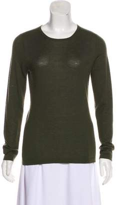 Neiman Marcus Cashmere Long Sleeve Top