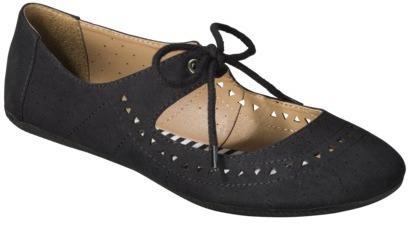 Mossimo Women's Layne Flats - Black