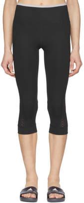 adidas by Stella McCartney Black Train Ultimate 3/4 Tights