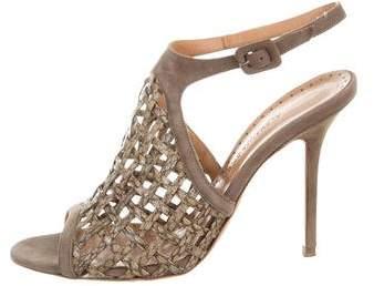 Alexa Wagner Linus Woven Sandals