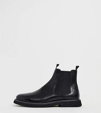 00dfa6b0332 Mens Leather Soled Chelsea Boots - ShopStyle UK