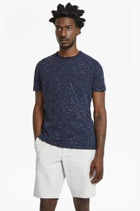 French Connenction Star Splatter Slim Fit Printed Jersey T-Shirt