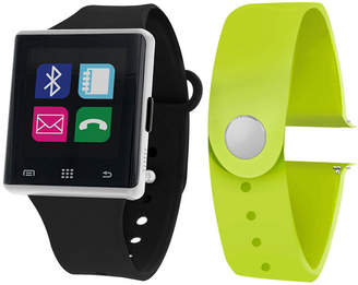 ITOUCH Itouch Air Interchangeable Band Set Black / Lime Unisex Multicolor Smart Watch-Jcp2721s724-339