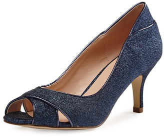 pink paradox London Adele Navy Glitter $186 thestylecure.com