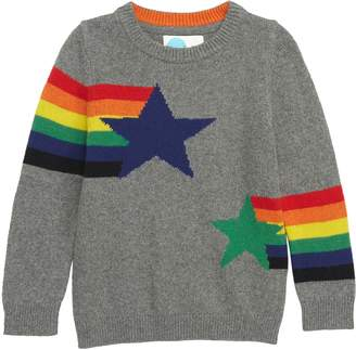 Boden Mini Intarsia Star Sweater