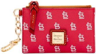 Dooney & Bourke MLB Cardinals Zip Top Card Case