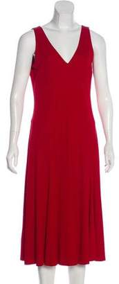 Lauren Ralph Lauren Sleeveless Midi Dress