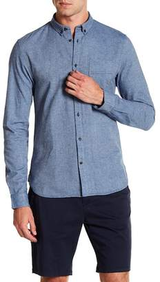 Scotch & Soda Regular Fit Long Sleeve Shirt