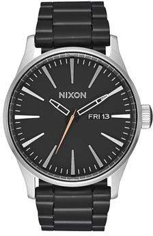 Nixon Sentry Short Sleeve Navy Gunmetal Watch
