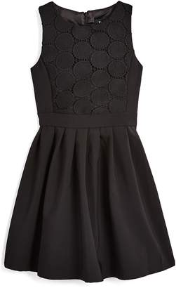 Bardot Junior Girls' Miami Eyelet Fit-and-Flare Dress
